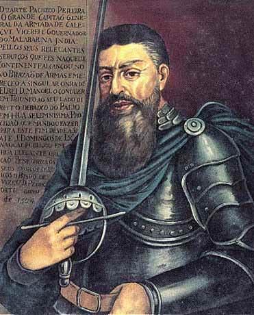 Duarte Pacheco Pereira (1460 a 1533), navegador militar e cosmógrafo português.