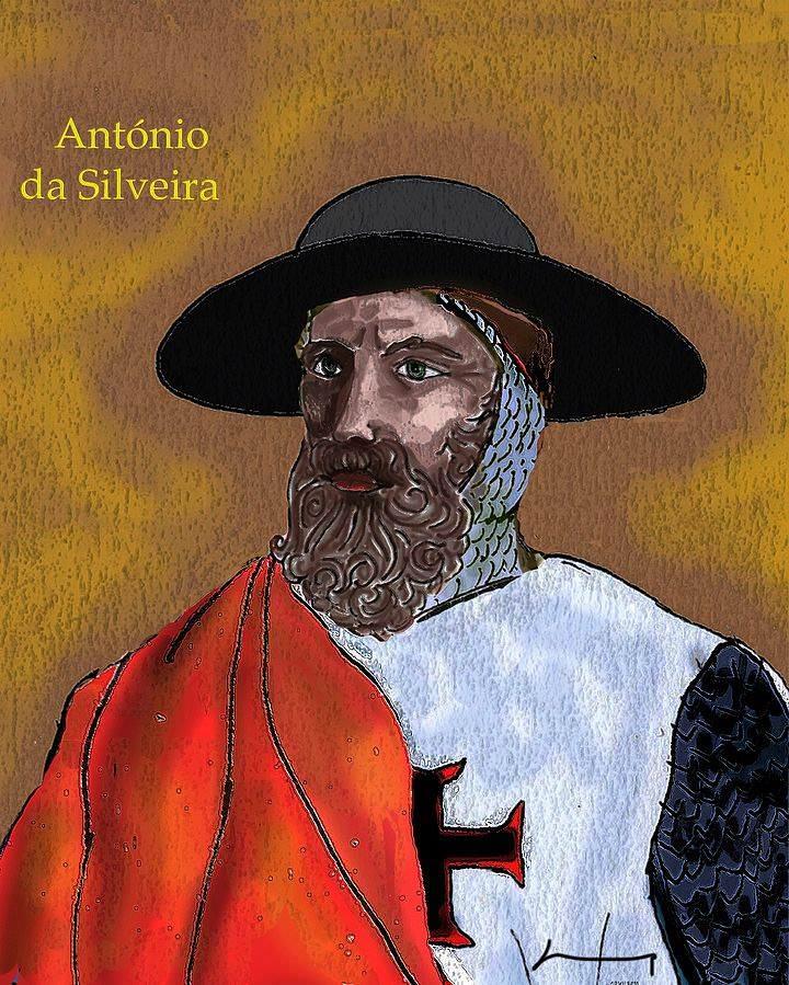 António da Silveira (1490 a 1531) Comendador de Arguim (Ordem de Cristo).